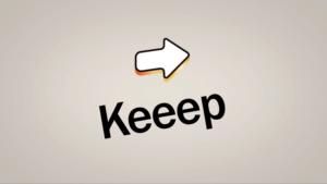 Keeep アプリ 画像